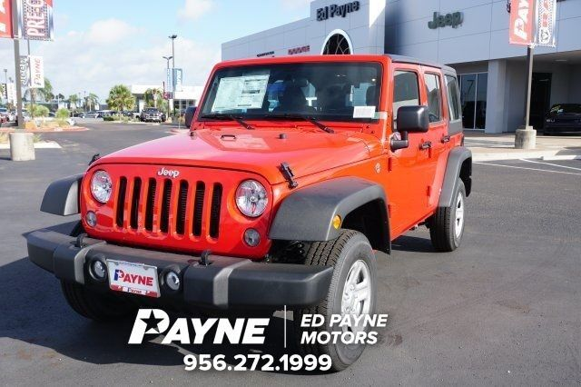 2017 jeep wrangler unlimited sport weslaco tx 20443462 for Ed payne motors mission