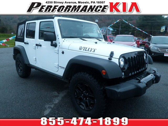 2017 Jeep Wrangler Unlimited Willys Wheeler Moosic PA