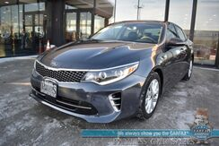 2017_Kia_Optima_EX / Heated & Cooled Leather Seats / Panoramic Sunroof / Blind Spot Alert / Bluetooth / Back Up Camera / Cruise Control / Aluminum Wheels / 34 MPG / 1-Owner_ Anchorage AK