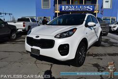 2017_Kia_Sportage_EX / AWD / Heated Leather Seats & Steering Wheel / Panoramic Sunroof / Blind Spot Alert / Bluetooth / Back Up Camera / Apple CarPlay & Android Auto / Keyless Entry & Start / 25 MPG / 1-Owner_ Anchorage AK