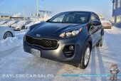 2017 Kia Sportage LX / AWD / Bluetooth / Back Up Camera / Power Mirrors Windows & Locks / Aluminum Wheels / Cruise Control / Projection Headlights / 26 MPG