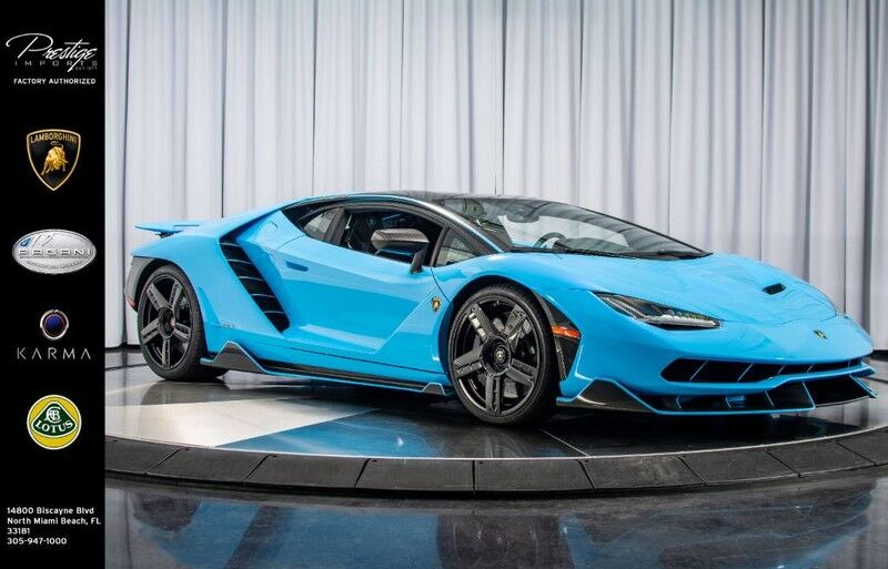 2017 Lamborghini Centenario Coupe North Miami Beach Fl 26514517