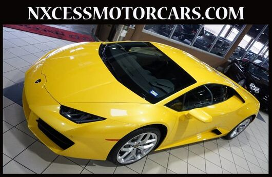 2017 Lamborghini Huracan THIS IS THE ONE JUST 5.5K MILES 1-OWNER CLEAN CARFAX. Houston TX