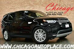 2017_Land Rover_Discovery_HSE TD6 DIESEL Luxury - 3.0L 245HP 6-CYL DIESEL ENGINE 1 OWNER NAVIGATION TOP VIEW CAMERAS PANO ROOF 3RD ROW SEATS MERIDIAN SURROUND AUDIO BLACK LEATHER HEATED SEATS_ Bensenville IL