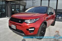 2017_Land Rover_Discovery Sport_HSE / 4X4 / Heated Leather Seats / Heated Steering Wheel / Panoramic Sunroof / 3rd Row / Seats 7 / Bluetooth / Back Up Camera / Cruise Control / Tow Pkg_ Anchorage AK