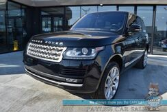 2017_Land Rover_Range Rover_4X4 / Air Suspension / Supercharged V8 / Heated & Cooled Seats / Heated Steering Wheel / Meridian Speakers / Navigation / HUD / Lane Departure & Blind Spot Alert / Panoramic Sunroof / Bluetooth / 360 Camera / Only 29k Miles_ Anchorage AK