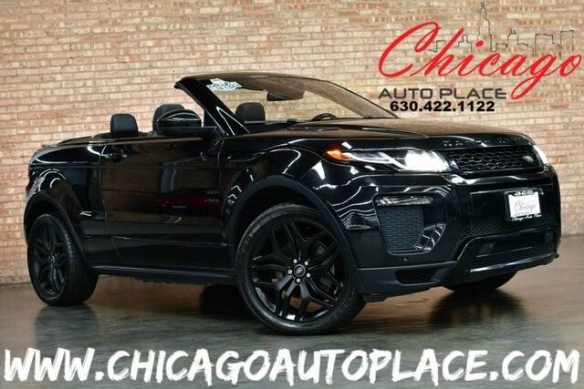 Range Rover Convertible >> 2017 Land Rover Range Rover Evoque Hse Dynamic Convertible Original Msrp 66 433 1 Owner Black Design Package Luxury Seating Package Navigation