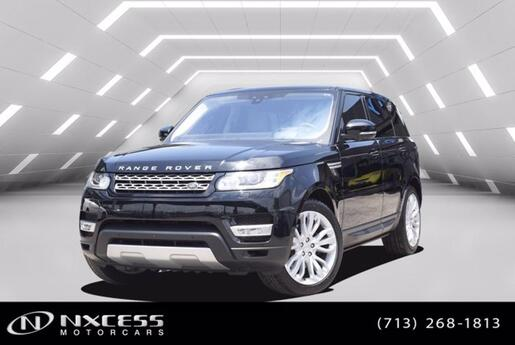 2017 Land Rover Range Rover Sport HSE One Owner Low Miles Extra Clean! Houston TX