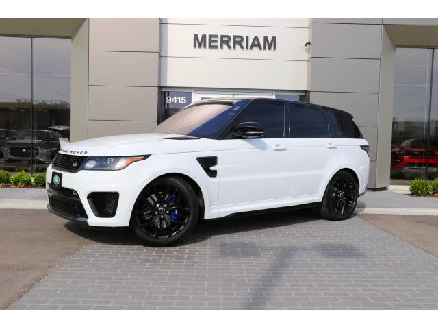2017 Land Rover Range Sport Svr Merriam Ks