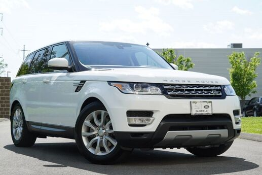 2017 Land Rover Range Rover Sport V6 Supercharged HSE Fairfield CT
