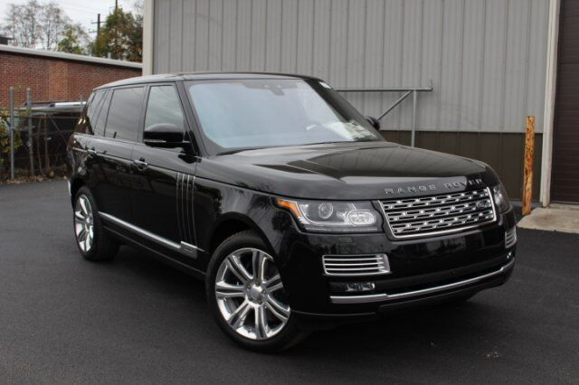 2017 Land Rover Range Rover V8 Supercharged SV Autobiography LWB Fairfield CT