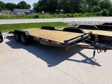 2017 Lawrimore 83x20 10K Wood Deck Equipment Trailer Car Hauler  Decatur IL