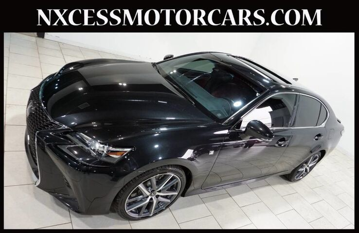 2017 Lexus GS GS 350 F-SPORT/PREMIUM PKG NAVIGATION BSM 1-OWNER. Houston TX
