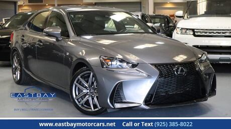 2017 Lexus IS IS200 Turbo F Sport with Blind Spot San Ramon CA