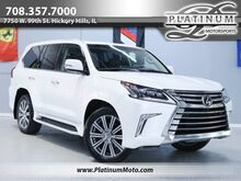 2017_Lexus_LX 570_1 Owner Rear Entertainment Roof Leather MSRP $99,034 Fully Loaded_ Hickory Hills IL