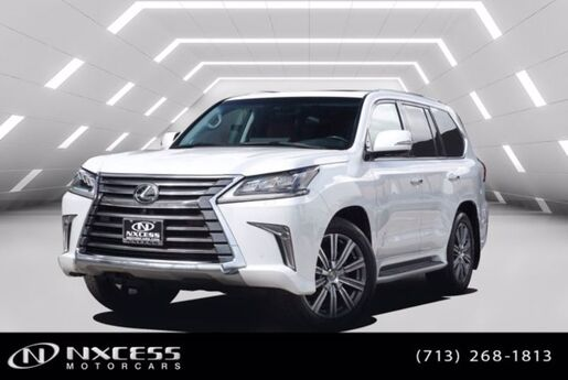 2017 Lexus LX LX 570 Luxury Premium Rear DVD MSRP $98975!! Houston TX