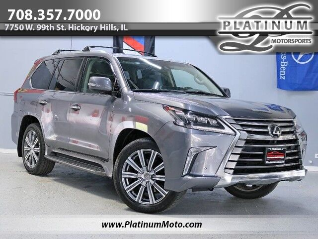 2017 Lexus LX570 1 Owner Roof Nav Leather Rear TV's Fully Loaded Truck Hickory Hills IL