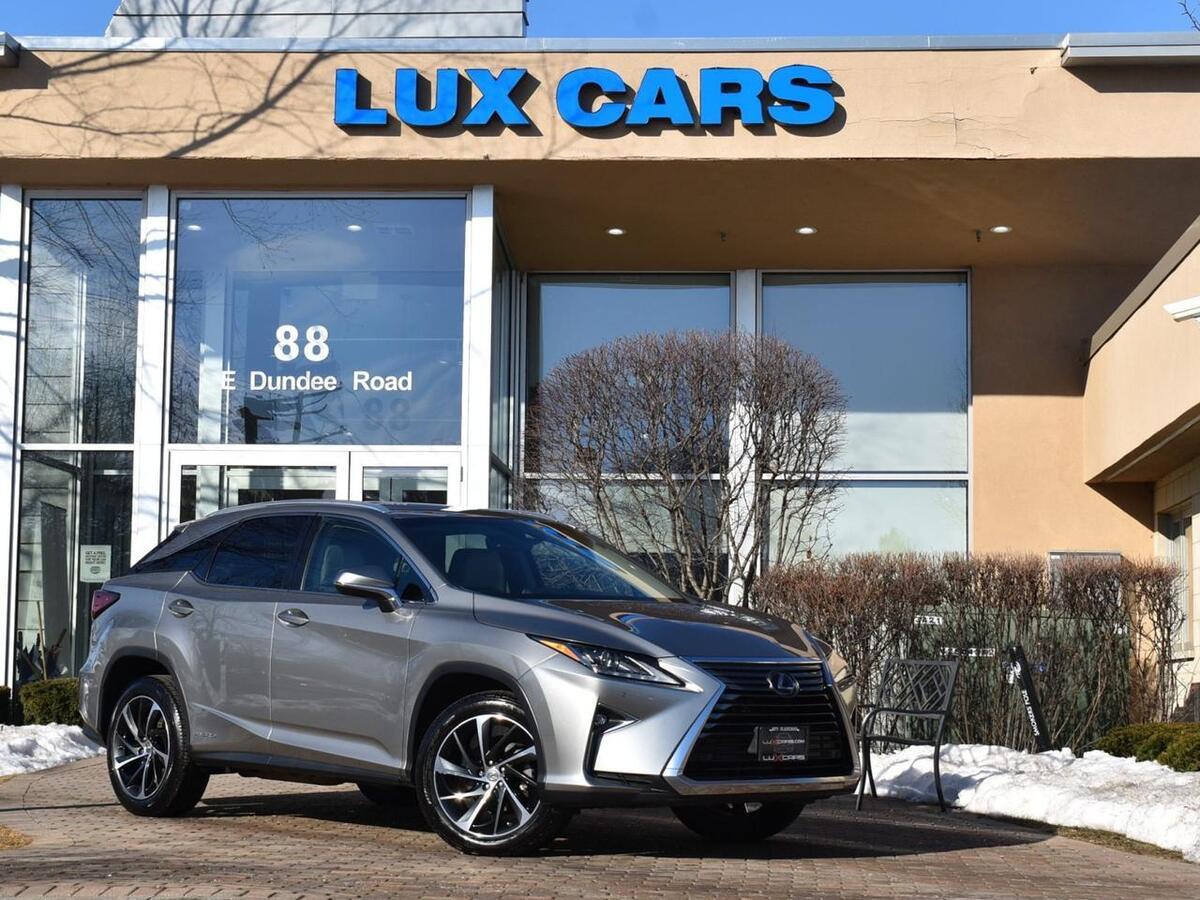 2017_Lexus_RX450h_Hybrid Nav Luxury PKG AWD MSRP $58,428_ Buffalo Grove IL
