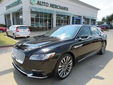 Lincoln Continental Reserve NAV, HTD/COOLED STS, PANORAMIC, BLIND SPOT, BACKUP CAM, BLUETOOTH, PUSH BUTTON, PARK AID 2017