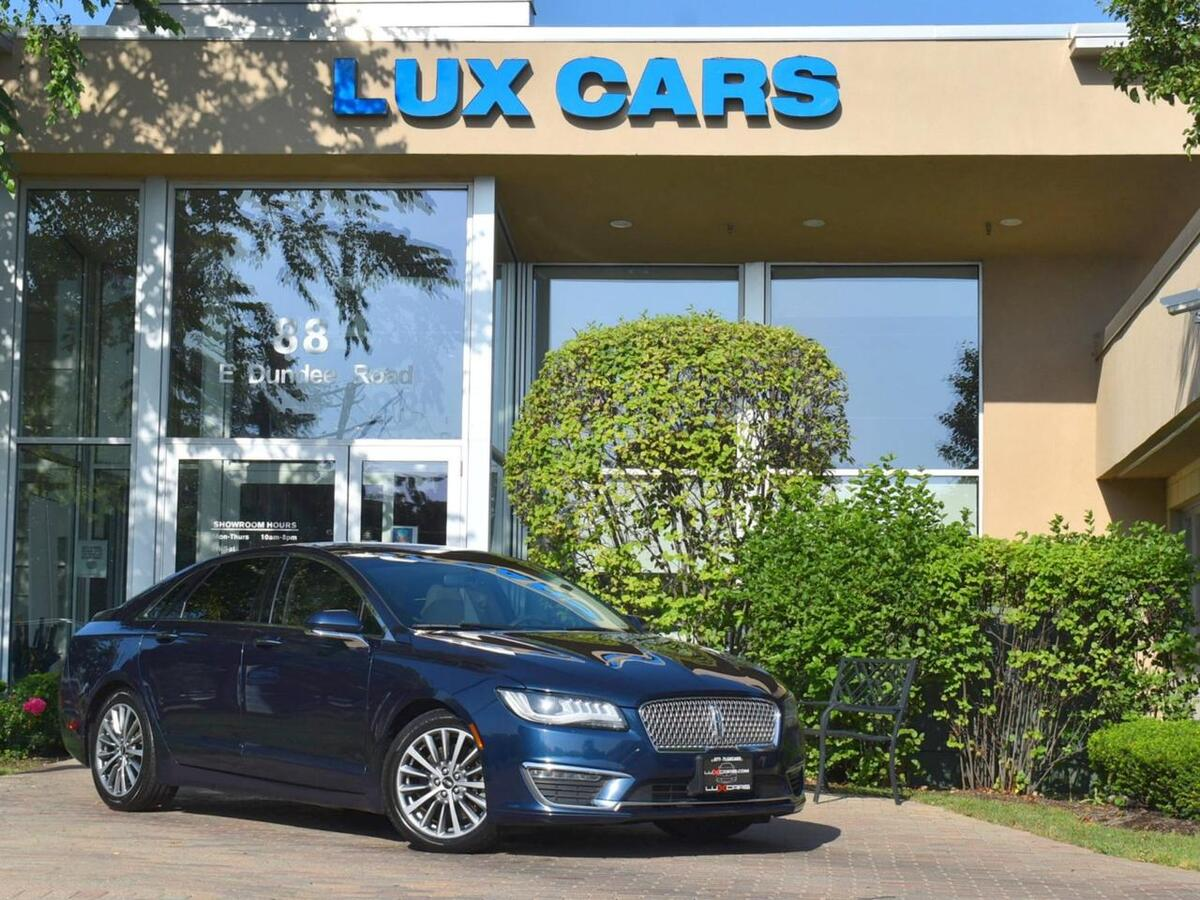 2017_Lincoln_MKZ_Select Panoroof Leather MSRP $43,590_ Buffalo Grove IL