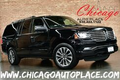 2017_Lincoln_Navigator L_Select - 3.5L V6 CYLINDER ENGINE 4 WHEEL DRIVE NAVIGATION BACKUP CAMERA KEYLESS GO BLACK LEATHER HEATED/COOLED SEATS 3RD ROW REAR TV_ Bensenville IL