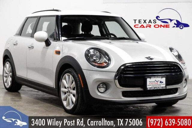 2017 Mini Cooper Automatic Connected Leather Seats Bluetooth Independent Cli Carrollton Tx 28629877