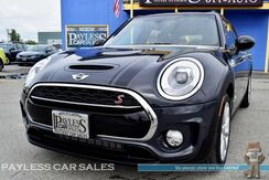 2017_MINI_Cooper S_Cooper S / AWD / John Cooper Pkg / Turbocharged / Automatic / Heated Leather Seats / Panoramic Sunroof / Bluetooth / Only 4K Miles / 32 MPG / 1-Owner_ Anchorage AK