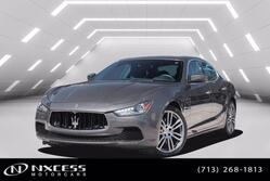 Maserati Ghibli Sport Trim Navigation Roof Backup Camera 2017