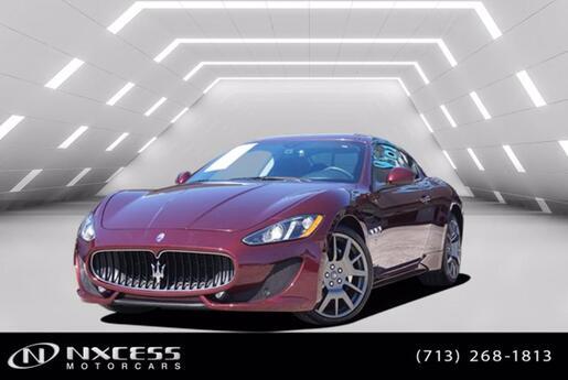 2017 Maserati GranTurismo Sport 4.7L Only 9K Miles Factory Warranty Houston TX