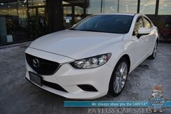 2017_Mazda_Mazda6_Touring / Automatic / Leather Seats / Blind Spot Alert / Keyless Entry & Start / Bluetooth / Back Up Camera / Cruise Control / 35 MPG / 1-Owner_ Anchorage AK