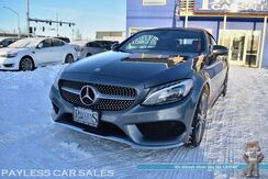 2017_Mercedes-Benz_C 300_Cabriolet Convertible 4Matic AWD / AMG Sport Pkg / Heated & Cooled Nappa Leather Seats / Navigation / Burmester Speakers / Bluetooth / Back Up Camera / Blind Spot Assist / Keyless Go Pkg / Low Miles / 1-Owner_ Anchorage AK