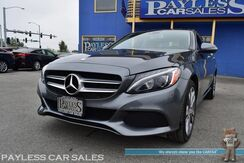 2017_Mercedes-Benz_C 300_Sport 4Matic AWD / Heated Leather Seats / Burmester Speakers / Navigation / Panoramic Sunroof / Blind Spot Monitor / Back Up Camera / 31 MPG / Only 16k Miles / 1-Owner_ Anchorage AK