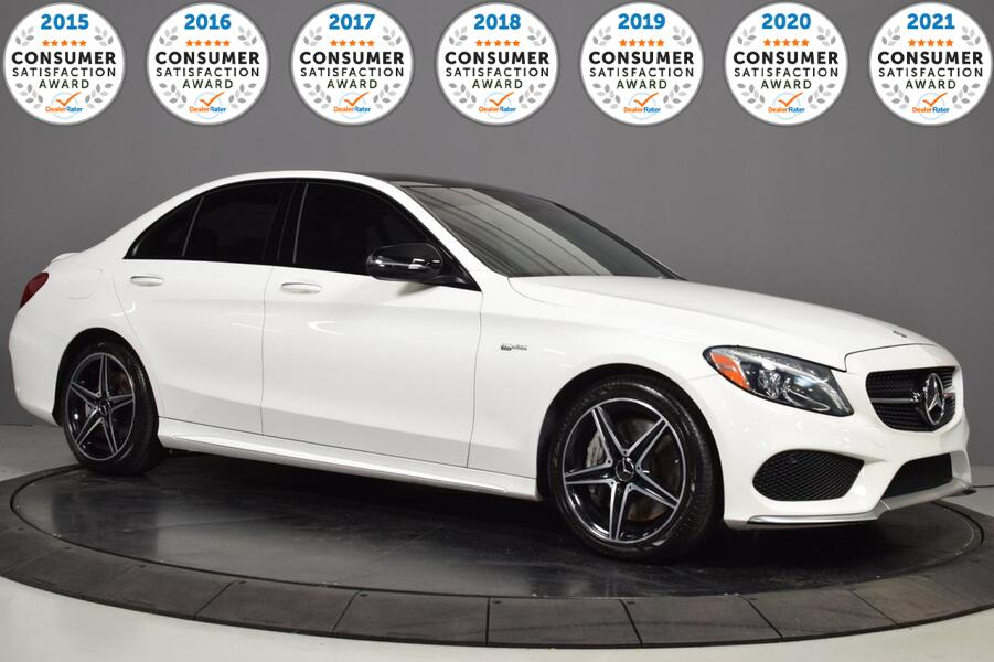 2017_Mercedes-Benz_C-Class_AMG C 43_ Glendale Heights IL