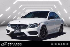 2017_Mercedes-Benz_C-Class_AMG C 43 Night Package, Electric Trunk Close, Keyless Go, Blind Spot Assist, Panorama, Navigation._ Houston TX