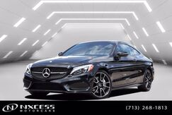 2017_Mercedes-Benz_C-Class_AMG C 43 Night Package, Electric Trunk Close, Keyless Go, Navigation System_ Houston TX
