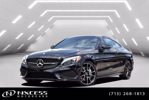 2017 Mercedes-Benz C-Class AMG C 43 Night Package, Electric Trunk Close, Keyless Go, Navigation System Houston TX