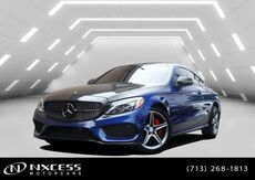2017_Mercedes-Benz_C-Class_C 300 4Matic Coupe AMG Wheels Sport Package._ Houston TX