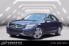 2017_Mercedes-Benz_C-Class_C 300 9K Miles! Navigation Roof Backup Camera Warranty!_ Houston TX