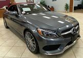 2017 Mercedes-Benz C-Class C 300 Cabriolet RARE RED TOP AND RED ROSSO INTERIOR MINT CONDITIONS