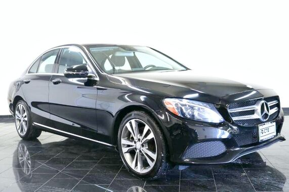 2017_Mercedes-Benz_C-Class_C 300, Factory Warranty, 1 Owner, Clean Carfax, Premium 1 Package, Panorama Sunroof, Leather interior, Blind Spot Assist, Rear View Camera,_ Leonia NJ