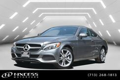 2017_Mercedes-Benz_C-Class_C 300 Keyless Go, Blind Spot Assist, Rear View Monitor, Heated Seats - Front_ Houston TX
