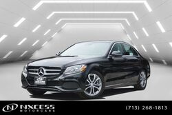 Mercedes-Benz C-Class C 300 Navi Rear View Monitor, Panorama Warranty. 2017