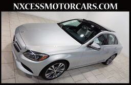 Mercedes-Benz C-Class C 300 PREMIUM/HEATED PKG PANO-ROOF NAVIGATION 1-OWNER. 2017