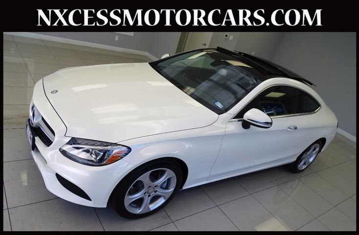 Vehicle details 2017 mercedes benz c class at nxcess for Mercedes benz west houston