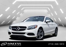 2017_Mercedes-Benz_C-Class_C 300 Sport Coupe 9K Miles Factory Warranty._ Houston TX