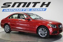 Mercedes-Benz C-Class C300 $6K OPTIONS, BACK UP CAMERA, PANO, HEATED SEATS 2017