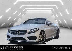 Mercedes-Benz C-Class C300 Convertible Sport,Lighting Package Head Up Navigation 2017