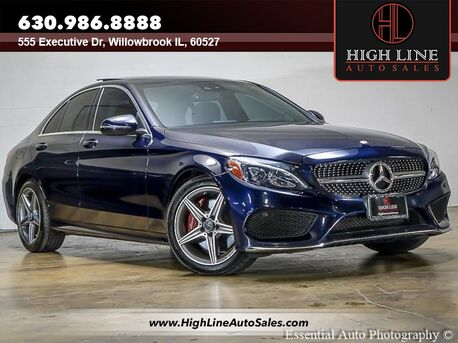 2017_Mercedes-Benz_C-Class_C300_ Willowbrook IL