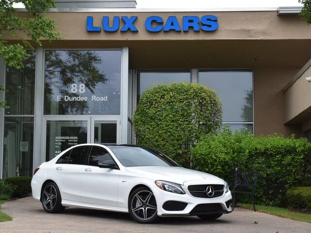 2017_Mercedes-Benz_C43_AMG Panoroof P3 Nav 4MATIC MSRP $58,755_ Buffalo Grove IL