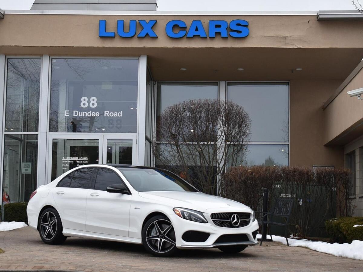 2017_Mercedes-Benz_C43 Panoroof P2 Nav 4MATIC MSRP $57,040_AMG_ Buffalo Grove IL